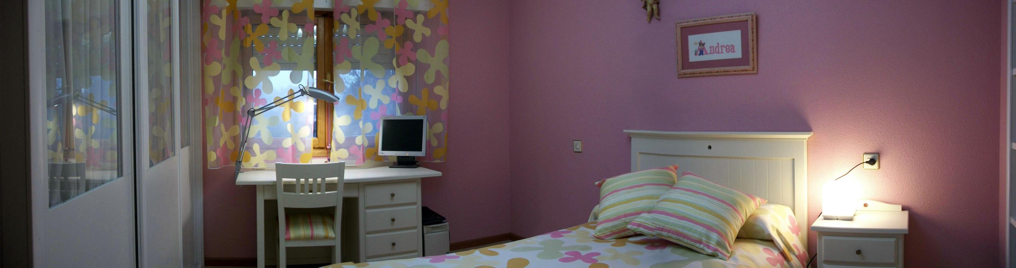 Dormitorio juvenil de ni a con cama nido pictures to pin - Dormitorio juvenil nina ...