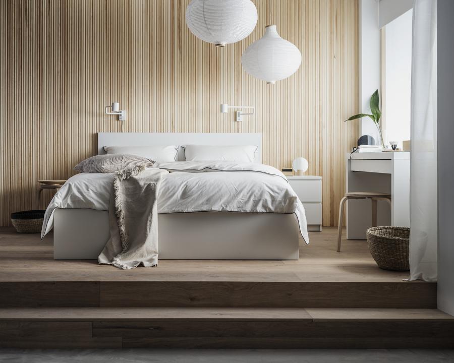 Dormitorio moderno catálogo IKEA 21.