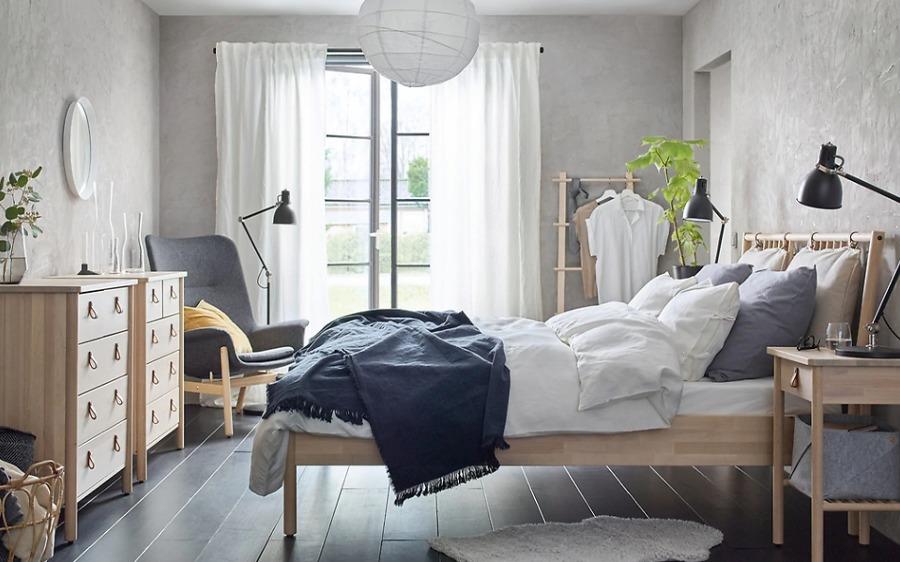 Dormitorio natural IKEA