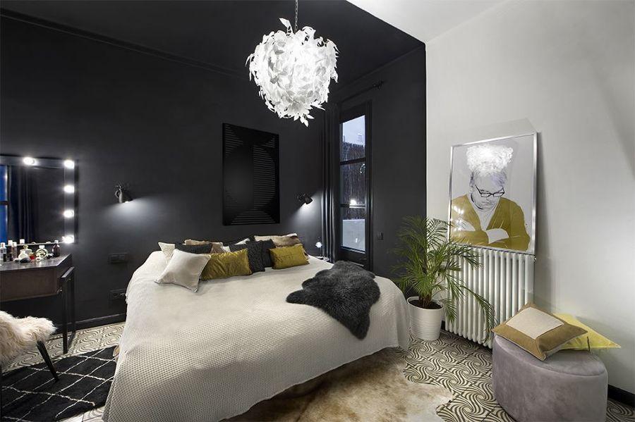 Dormitorio negro