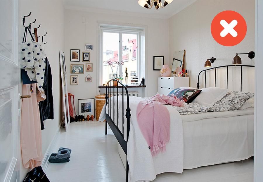 Dormitorio nórdico femenino