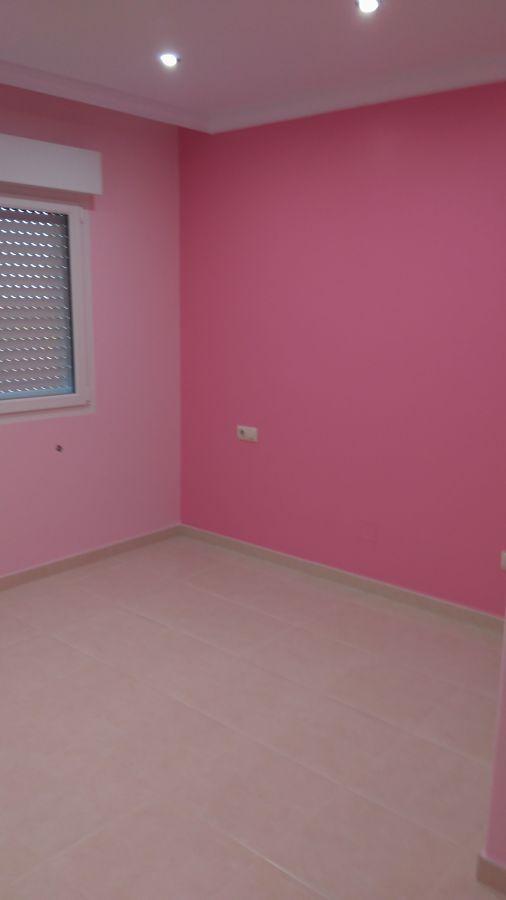 Dormitorio pintura plástica satinada 2 tonalidades