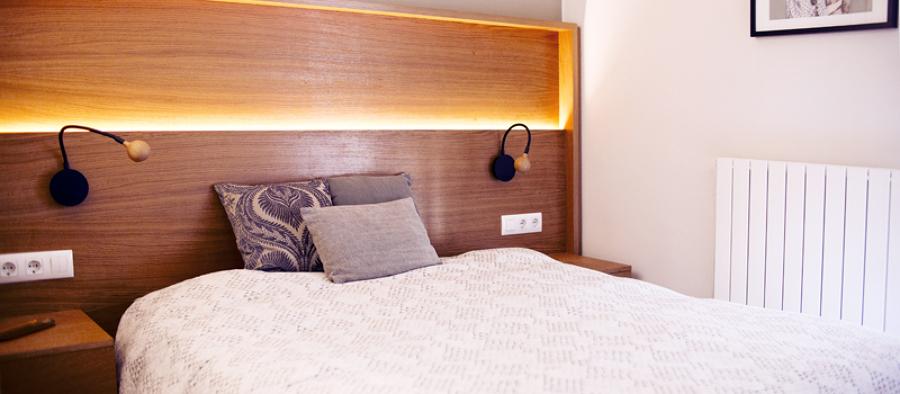Dormitorio piso en Barcelona