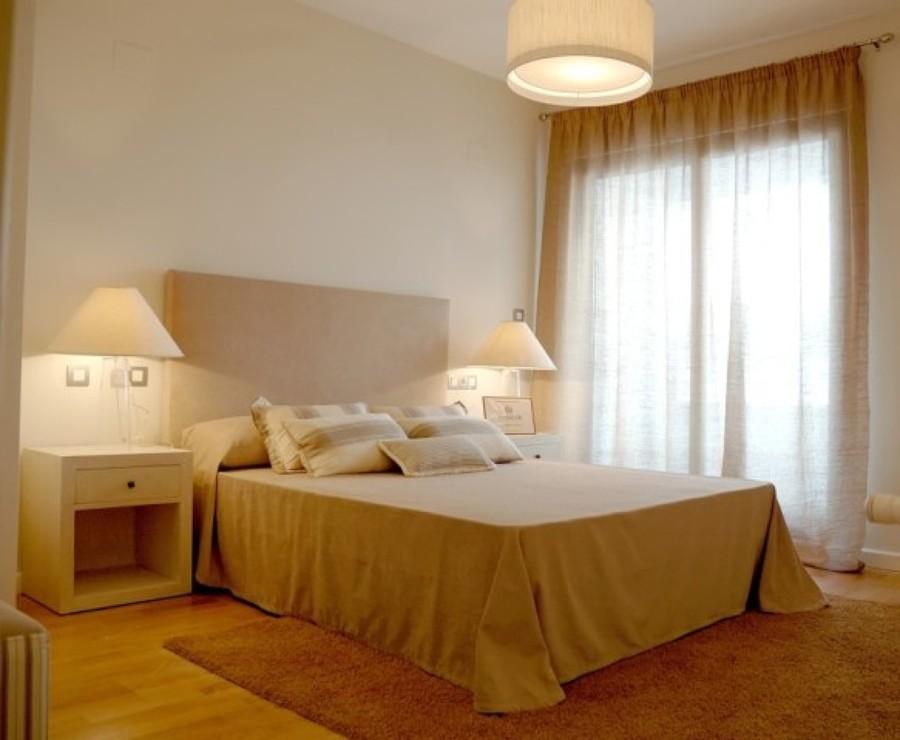 Dormitorio piso piloto y alquiler