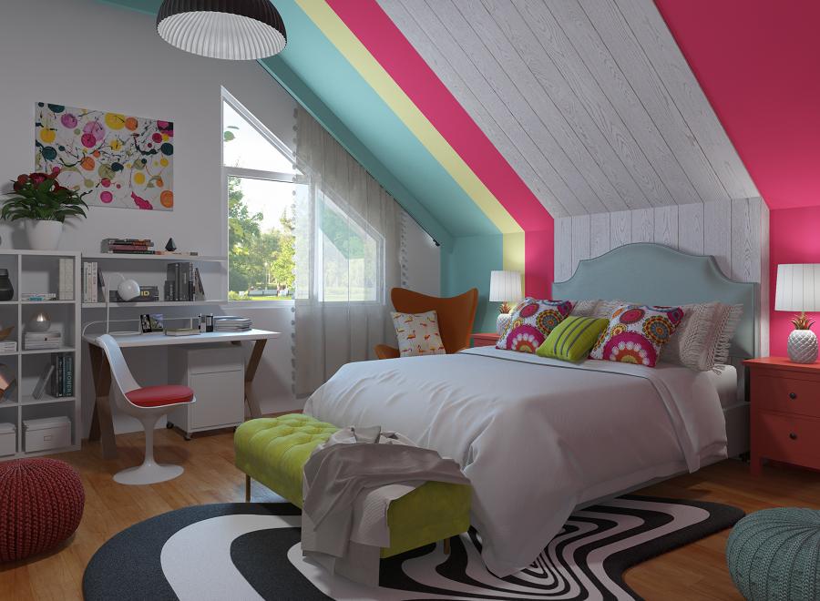 Dormitorio Pop Art