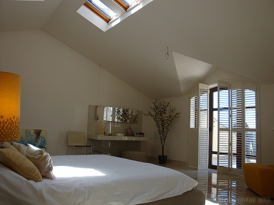 Dormitorio Principal en Vivienda Ampliada en Marbella