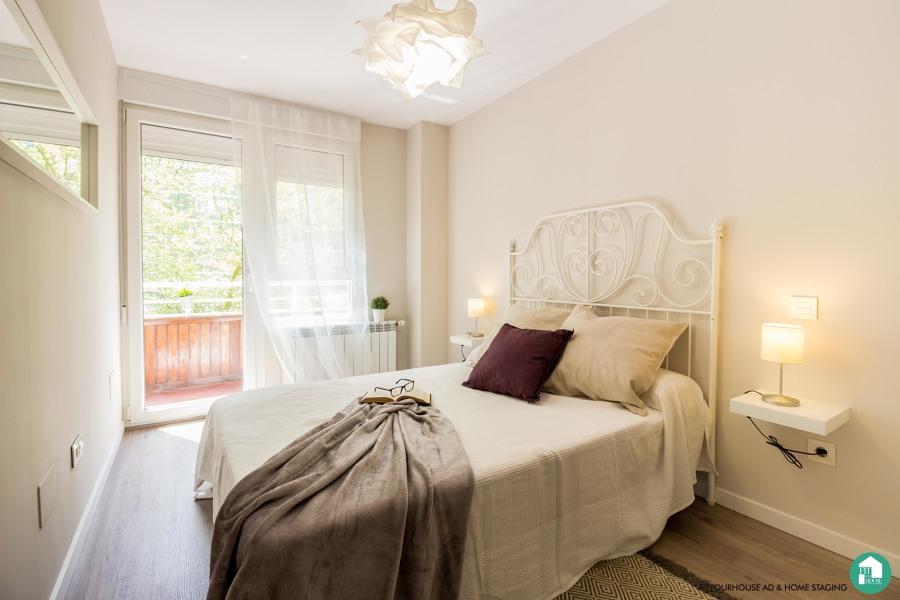 Dormitorio principal. Reforma y Home Staging Cantabria