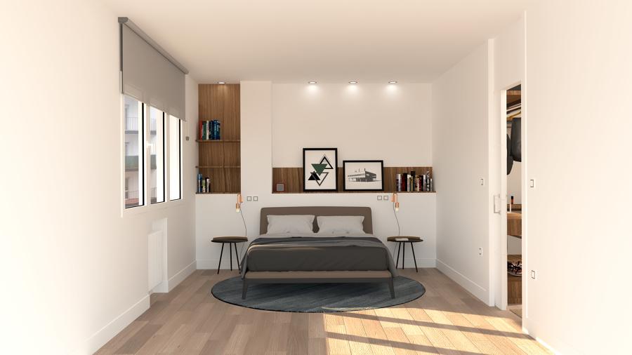 Dormitorio principal, tipo suite