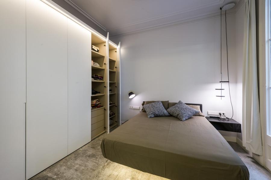 Dormitorio principal y armario