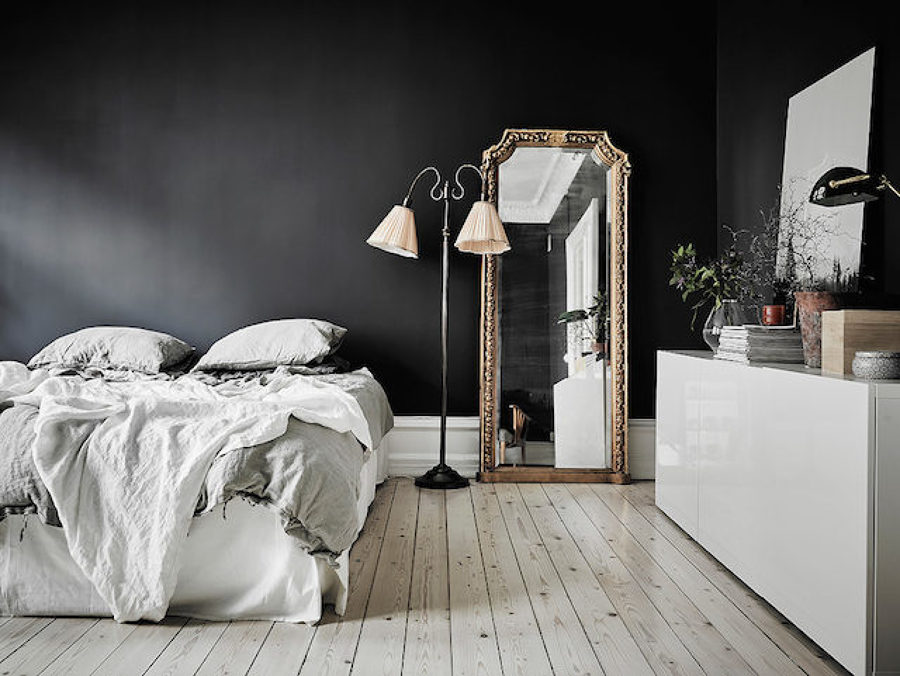 Dormitorio retro vintage