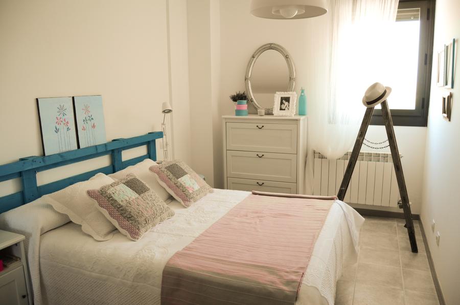 El estilo rom ntico vintage en un dormitorio ideas - Dormitorio estilo romantico ...
