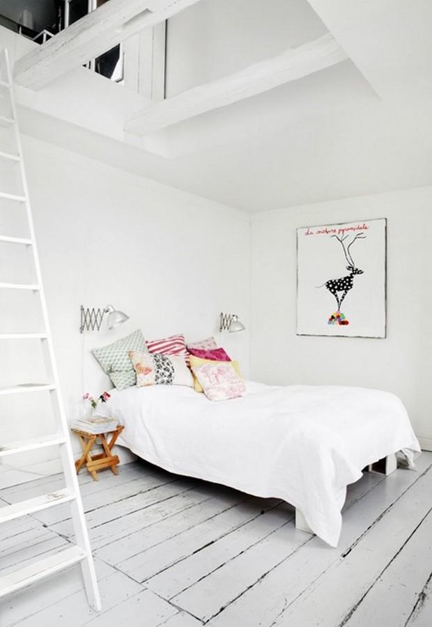 Dormitorio sin luz natural