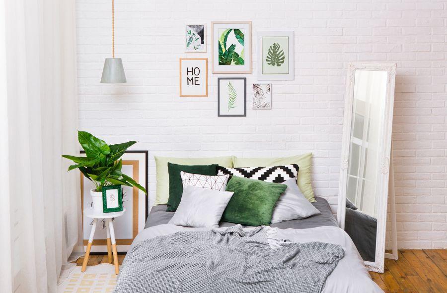 Dormitorio tropical