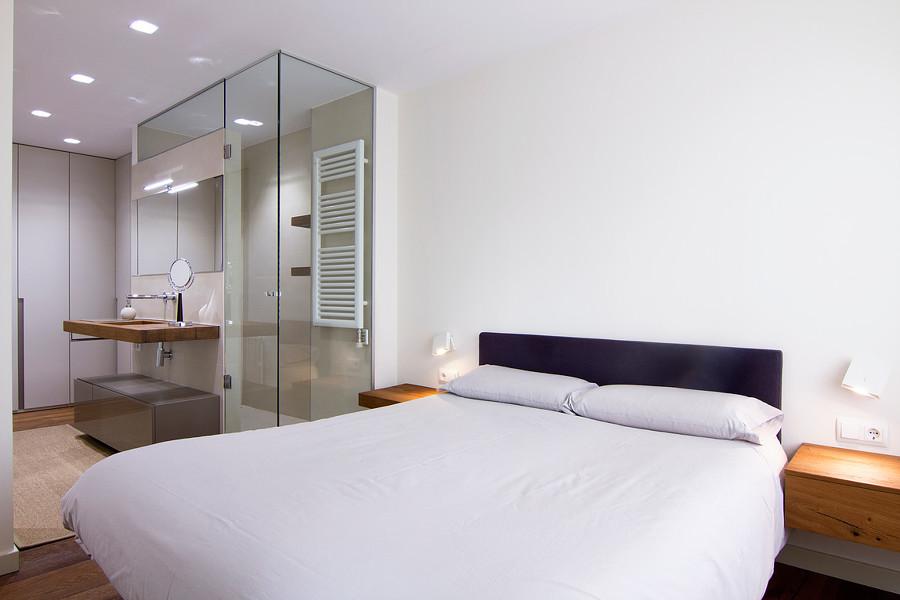 Dormitorio Y Baño Integrado
