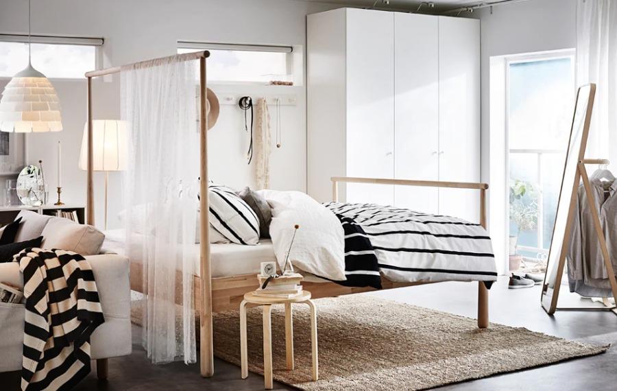 Dormitorio y sala de estar IKEA