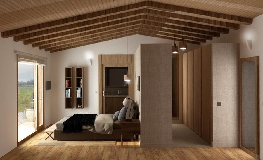 Dormitorio y vestidor