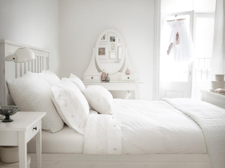 C mo triunfar con un dormitorio blanco muy f cil - Decorar dormitorio blanco ...