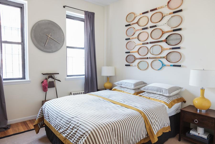 Foto dormitorios con raquetas de tenis de ma jos for Decorar mi pieza