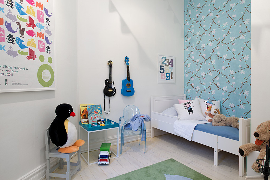 guitarras para dormitorios infantiles