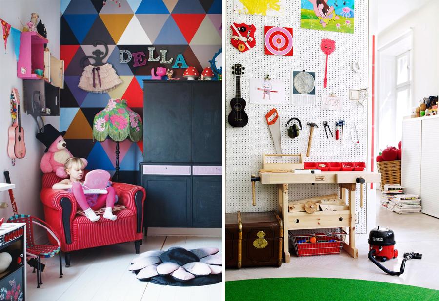 dormitorios infantiles con guitarras