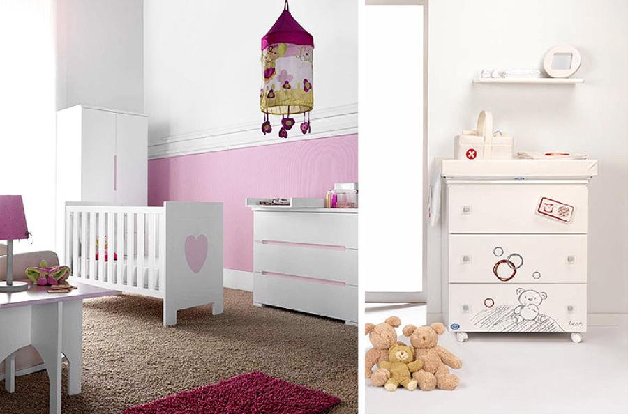 Foto dormitorios infantiles cambiadores de arquitectos for Decoracion para comodas dormitorio