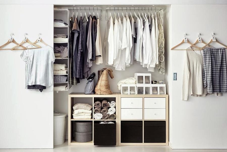 9 ideas para ganar espacio en tu dormitorio ideas for Closet para cuartos matrimoniales