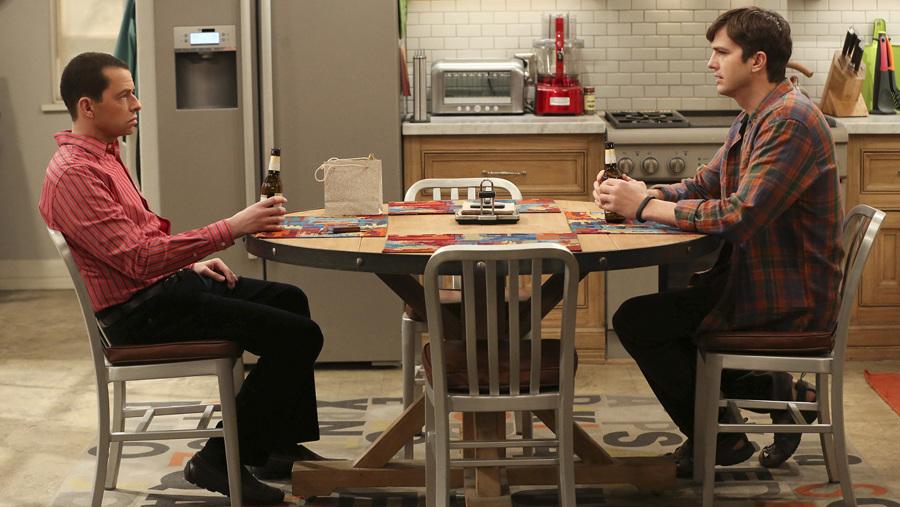 Dos hombres y medio cocina