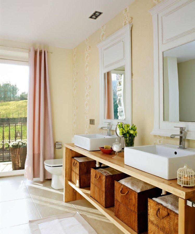 Foto dos lavabos sobre mueble de marta 871178 habitissimo for El mueble online