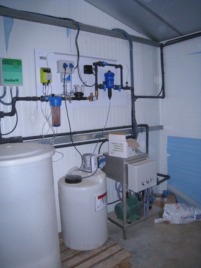 Dosificación y tratamiento de aguas