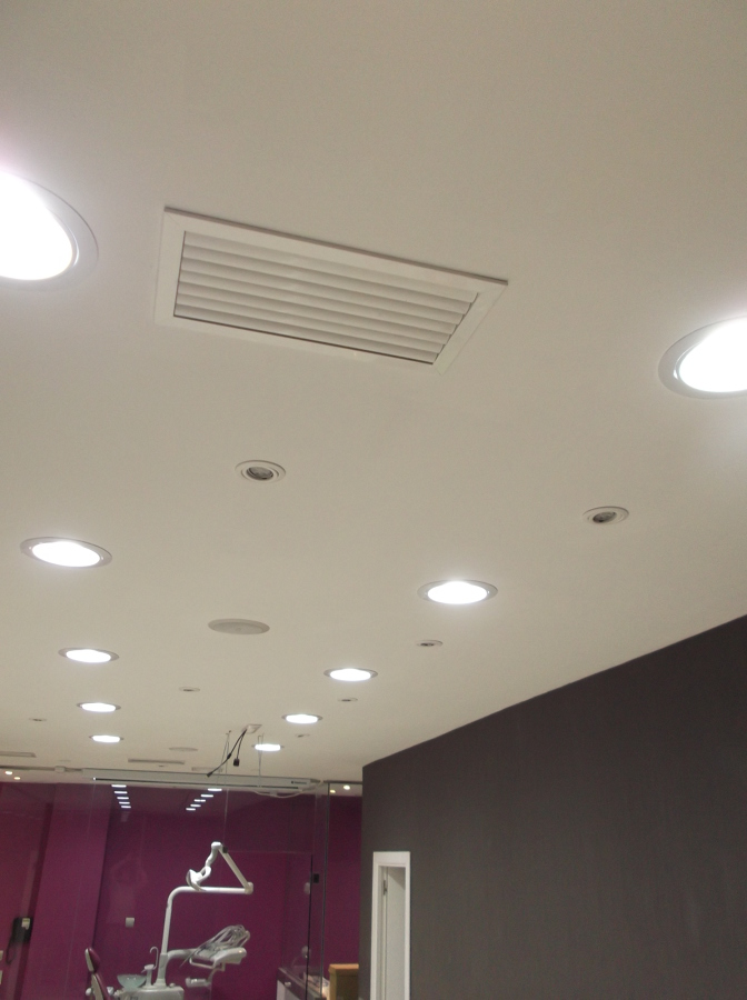 Downlight led empotrado