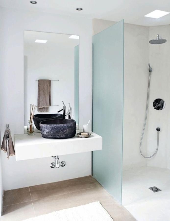 ducha de obra en blanco - Duchas De Obra Fotos
