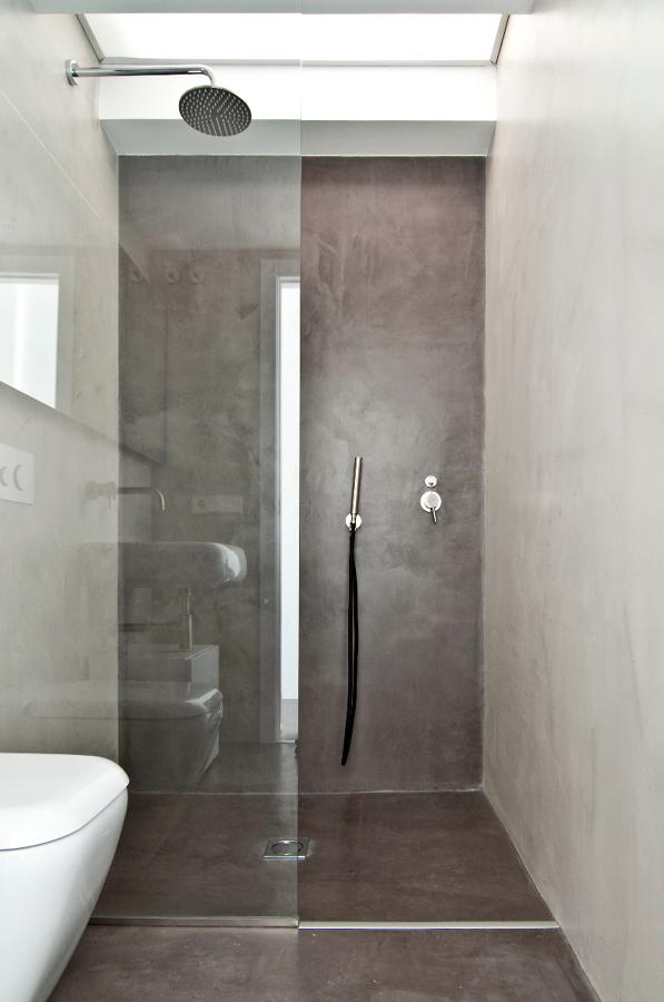 Foto ducha microcemento de areaarquitectura design valencia 230332 habitissimo - Duchas sin plato ...