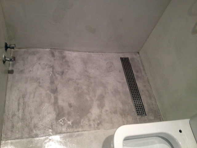 Foto ducha obra microcemento de arqcon 421615 habitissimo - Precios del microcemento ...