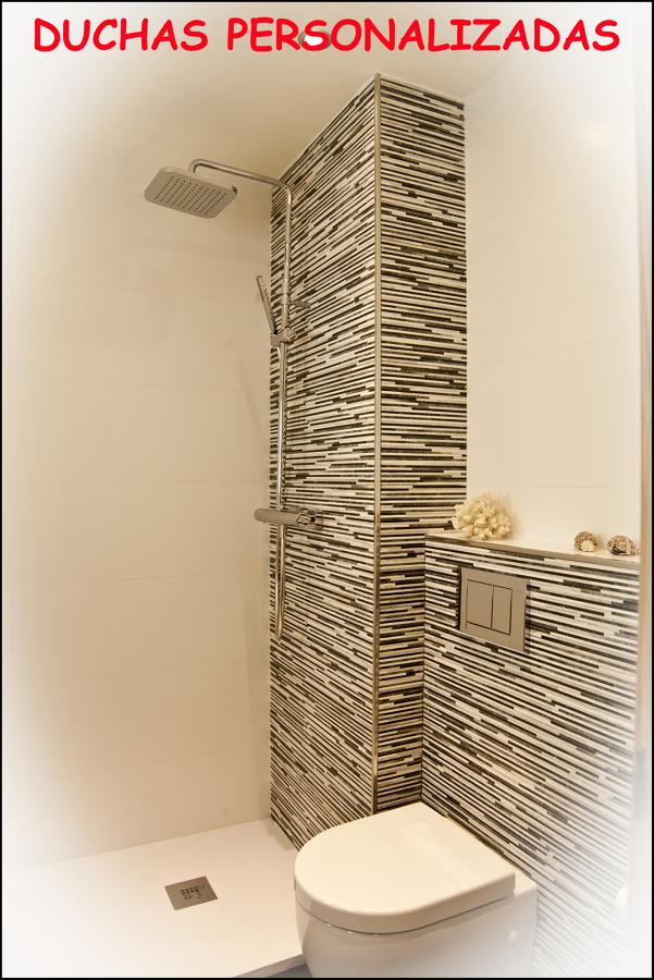 ducha personalizada.