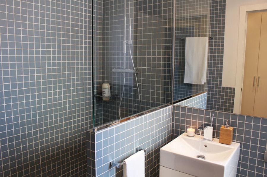 Ducha y lavabo