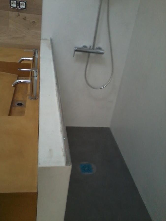 Ducha y lavabo micro