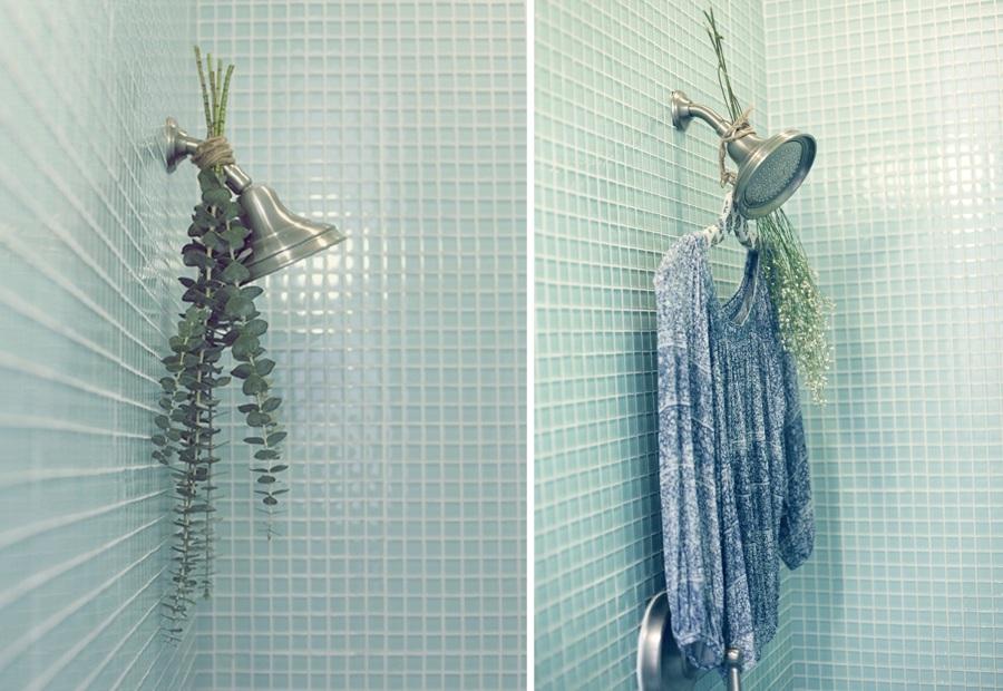 ducha y vapor