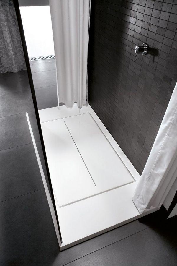 8 cosas que debes saber sobre las duchas a ras del suelo - Plato de ducha de silestone ...
