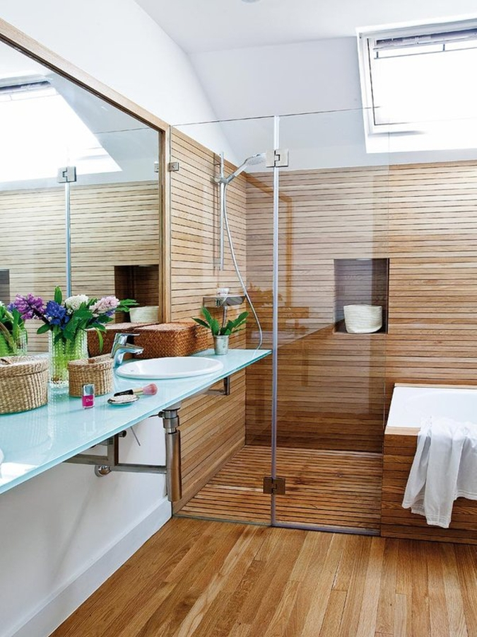 8 cosas que debes saber sobre las duchas a ras del suelo - Duchas de obra fotos ...
