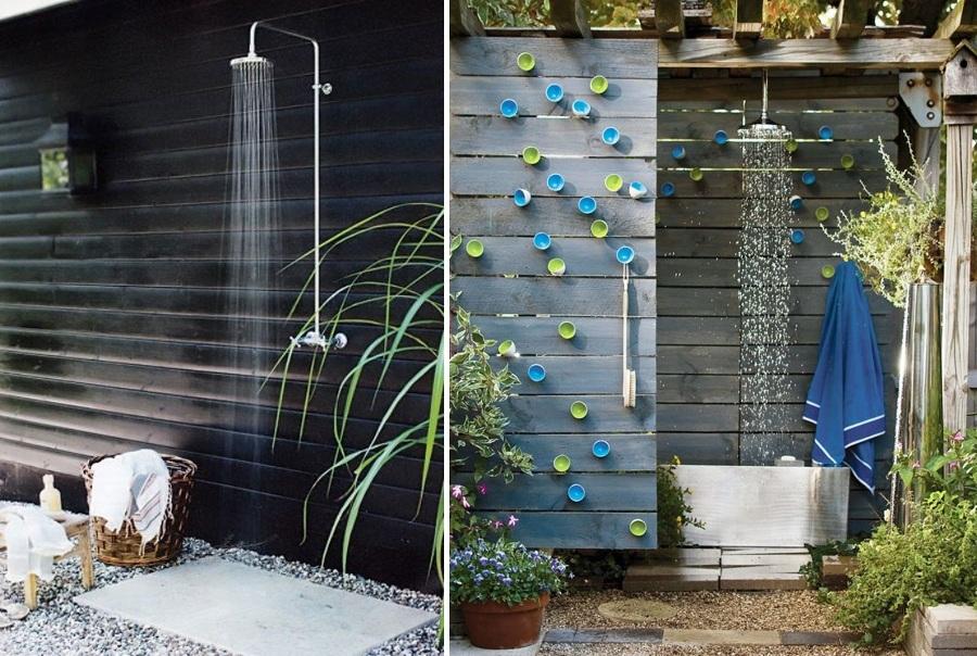 Disfruta de la ducha en tu jard n ideas decoradores - Ducha para jardin ...