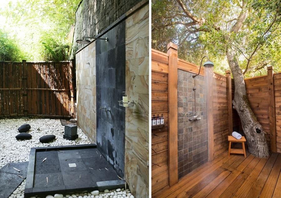 Fotos duchas finest v para plato de ducha with fotos - Ducha de jardin ...