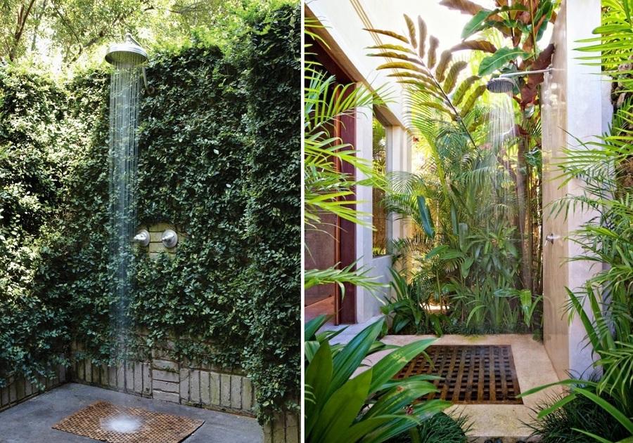 duchas exteriores