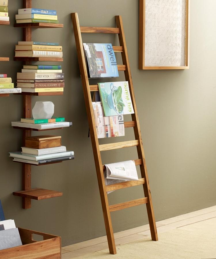6 originales usos que le puedes dar a una escalera de mano - Que es un futon ...