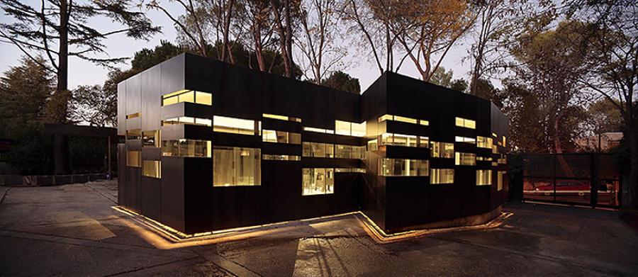 Foto edificio de oficinas en madrid de balcon obras y for Edificios oficinas madrid