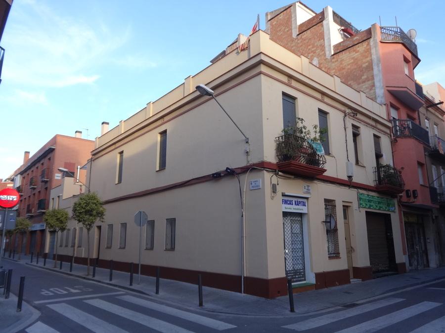 Edificio donde se ubica la actual vivienda.