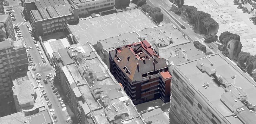 Edificio objeto del Informe