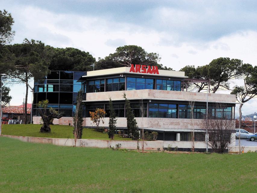 Edificio Oficinas ARSAM_fachada posterior
