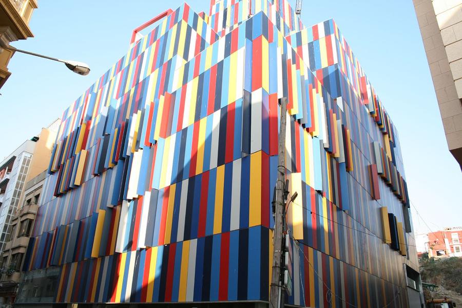 edificio tetris