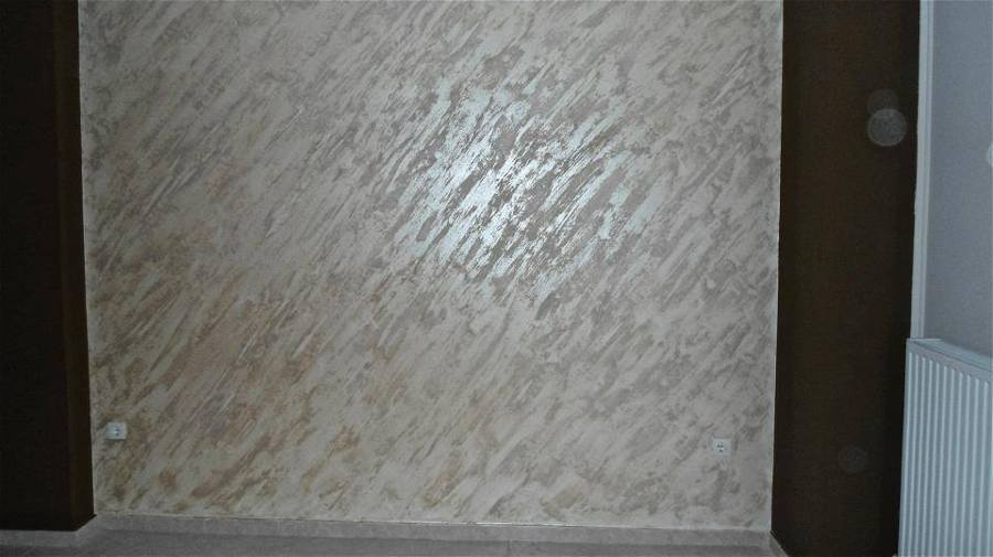 Foto efecto perlado arenas metalizadas de pintura y for Pintura arena gris