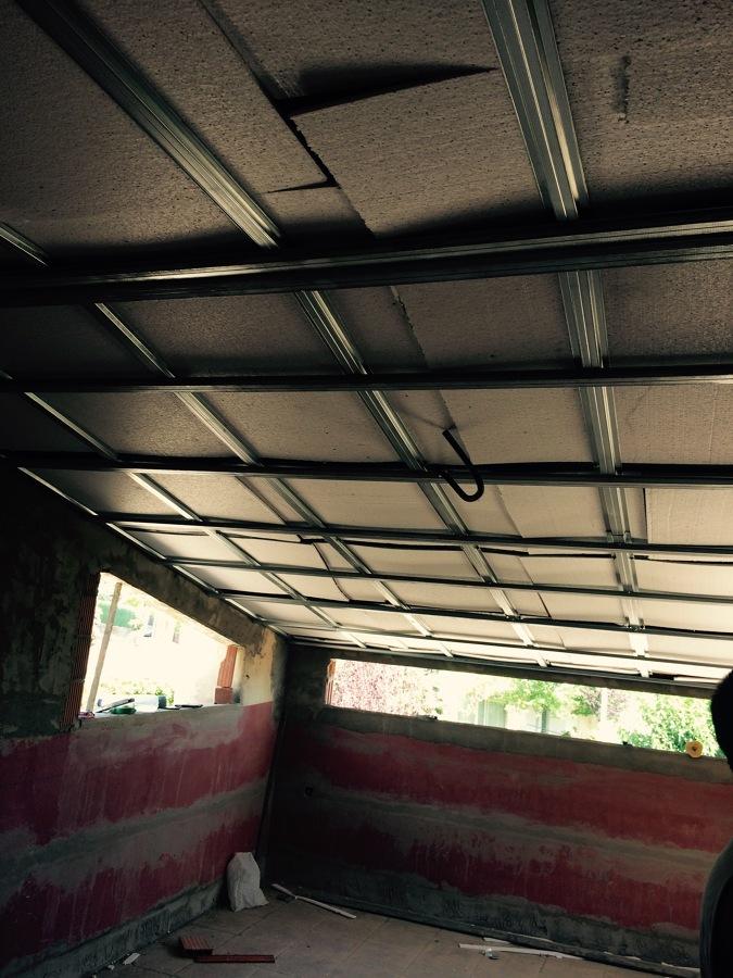 Ejecución de aislamiento y falso techo de pladur